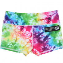 ROKFIT DAZED AND DYED BOOTY SHORTS