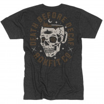 ROKFIT 'DEATH BEFORE DECAF' T SHIRT