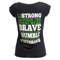 Invictus women's 'Be Strong' T-Shirt