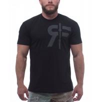 RokFit Black/Black Logo Shirt