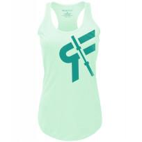 RokFit Womens Logo Tank - Green