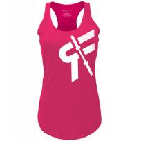 RokFit Womens Logo Tank - Pink