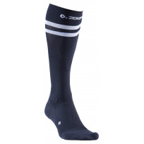 Zero Point Compression Running Socks - Black Stripe