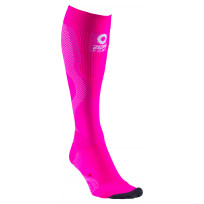 Zero Point Compression Running Socks - Pink