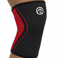 Rehband Knee Sleeve RX 3MM BLACK/RED FRONING