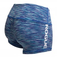 ROGUE WOD Gear Womens Wide Band Booty Shorts