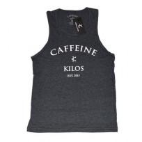 CAFFEINE & KILOS ARCH LOGO MENS TANK