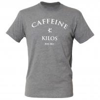1d44a31b28a5d9 CAFFEINE   KILOS Grey T-Shirt