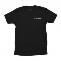 CAFFEINE & KILOS Black sender logo t shirt