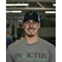 INVICTUS SNAPBACK HAT BLACK FRONT/WHITE BACK